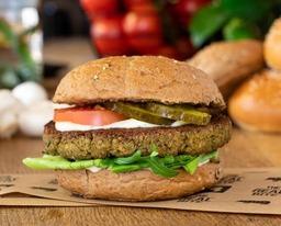 Falafel Burger ( Vegan)