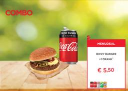 Bicky Burger + Drankblikje