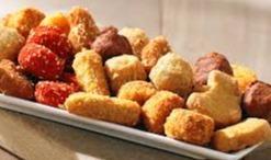 minisnacks met 1/2 portie patat