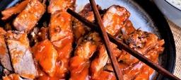 pangangvlees met saus