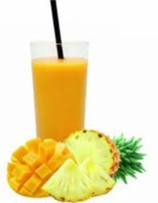 smoothie mango ananas
