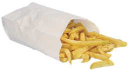 6 personen patat