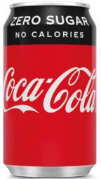 Coca Cola Zero blik