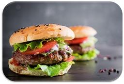 Real hamburger