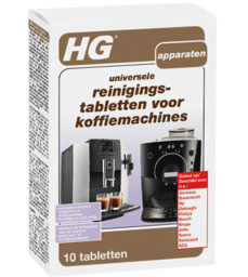 HG Universele Reinigingstabletten Koffiemachines