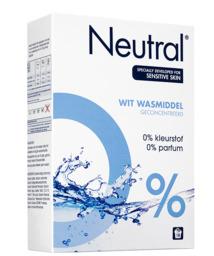 Neutral waspoeder wit 18 scoops