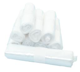 Huishoudelijk afvalzak 60 liter,  wit