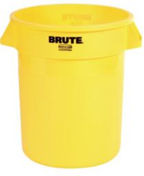 Rubbermaid Brute Container 75,5 liter, Geel