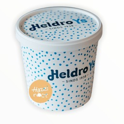 Heldro ijs beker Hazelnoot 950ml