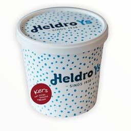 Heldro ijs beker Kers met stukjes chocolade 950ml