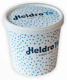Heldro ijs beker wit 950ml