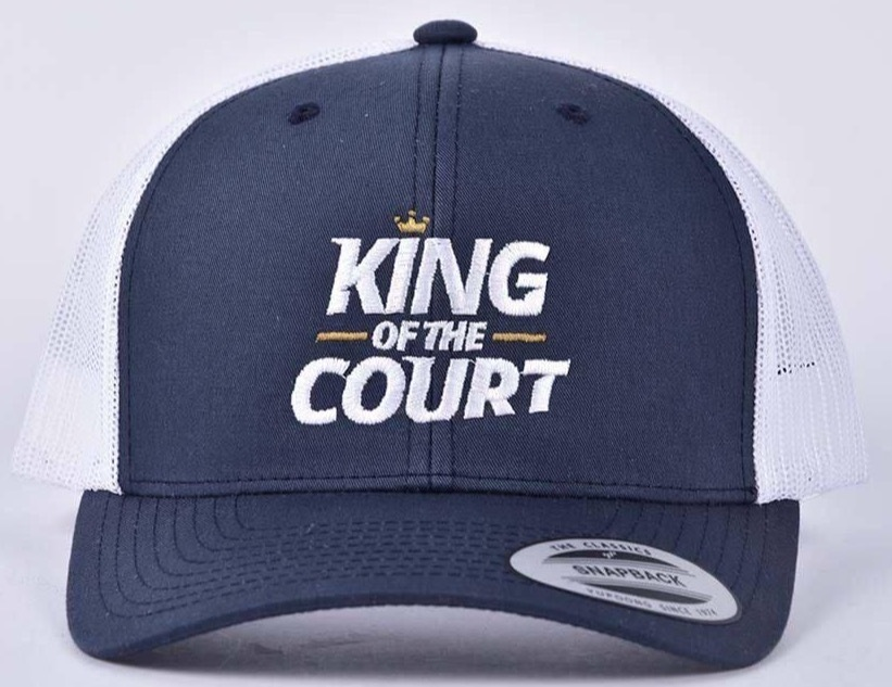 King of the Court Cap - Blue/White