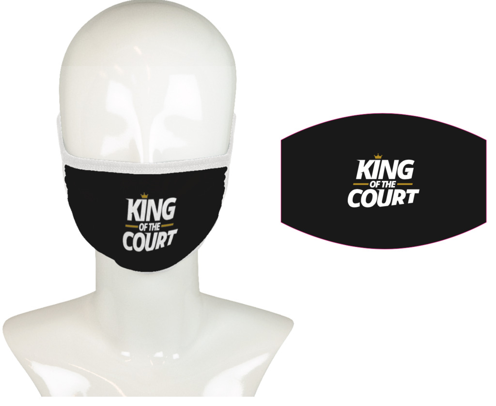 King of the Court Mondkapje/Mouth mask