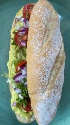 Broodje Kipkerrie Salade