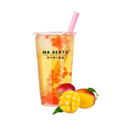 BUBBLE TEA COLD MANGO