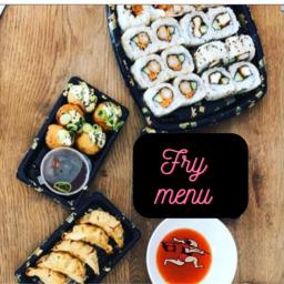 fry sushi menu