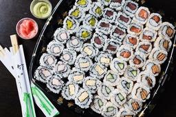 hoso imaki i.o sake avocado (6 stuks)
