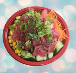 poké bowl spicy maguro