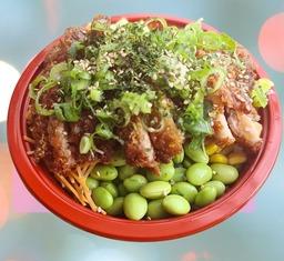 poke bowl Tori katsu/ krokante kip