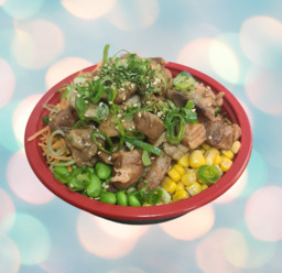 poké bowl tori teriyaki