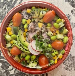 Salade nama maguro / tonijn-truffel