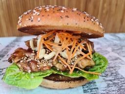 Tori teriyaki burger