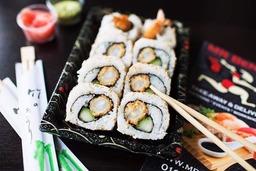ura maki ebi tempura 8 stuks