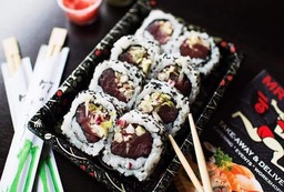 ura maki spicy maguro 8 stuks
