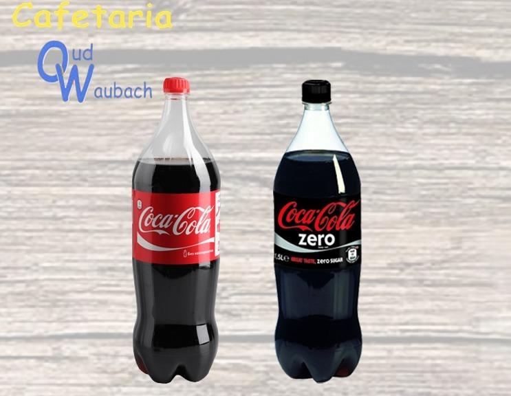 Fles Cola 1,25 ltr